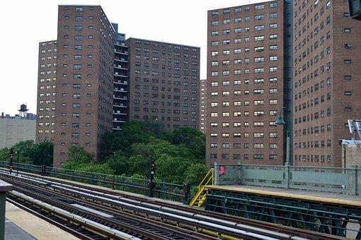 Housing Projects, Harlem, New York City, Manhattan