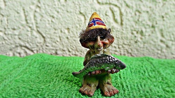 Krasnal, Gnome, Troll, Ornament, The Figurine