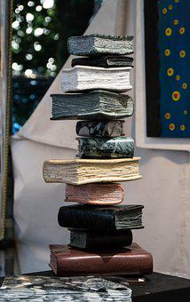 Book, Book Stack, Bookcase, Stack, Literature, Library