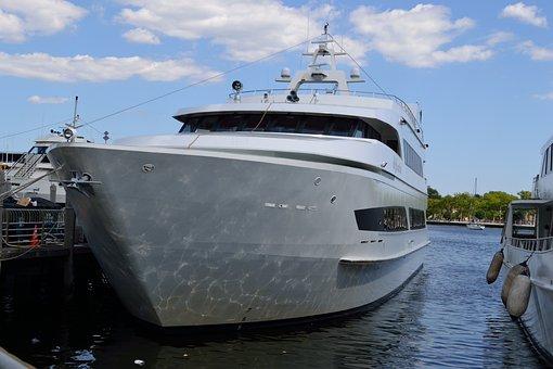 Yacht, Boat, Water, Ship, Docks, Marina, Marine, Vessel