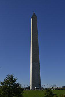 Washington Monument, Tall Building, Memorial