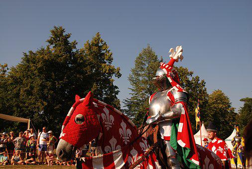 Knight, Armor, Middle Ages, Tournament, Clash