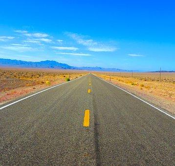 Usa, Nevada, Landscape, Holidays, Mountains