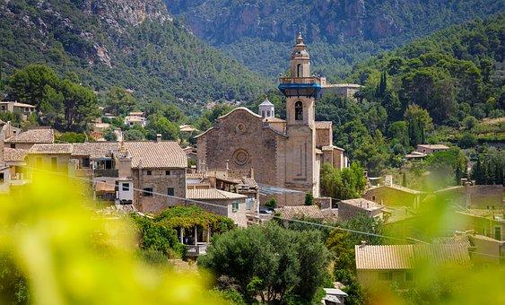 Valdemossa, Mallorca, Majorca, Spain, Town