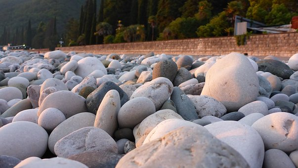 Beach, Stones, Sea, Pebbles, Water, Nature, Stone