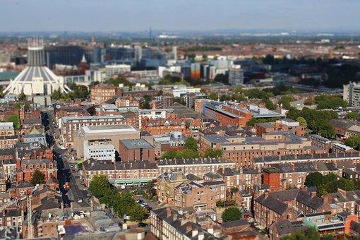 Aerial, Canon, Canon 1200d, Liverpool, Docks, Skyline