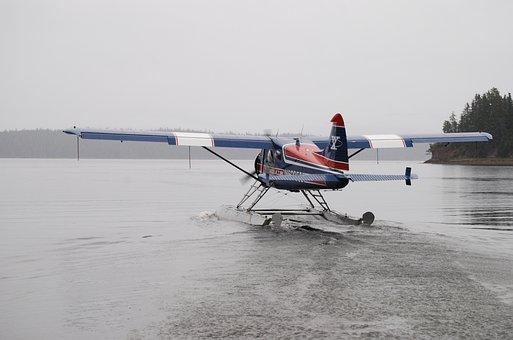 Seaplane, Plane, Aircraft, Airplane, Sea, Aviation