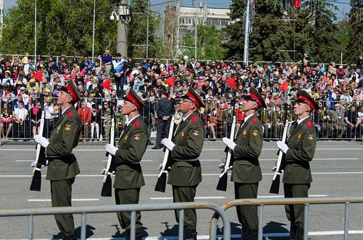 Parade, Victory Day, The 9th Of May, Samara, Area