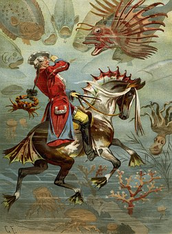 Baron Munchausen, He Rode On The Seahorse, Tall Tales