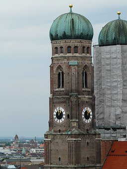 Tower, Onion Dome, Building, Architecture, Restoration