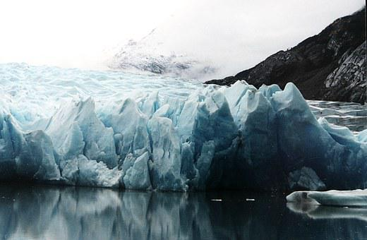 North Pole, Glacier, Ice, Calving, Iceberg, Patagonia