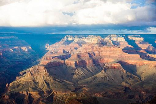Grand Canyon, Sky, Canyon, Arizona, Landscape, Grand