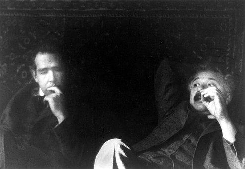 Albert Einstein And Niels Bohr, 1925, Casual