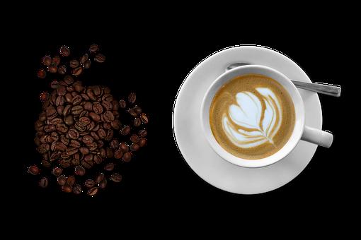 Coffee, Cup And Saucer, Black Coffee, Tea Spoon