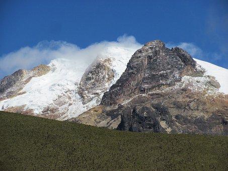 Snow Peak, Rocks, Paramo, Nature, Moor, Fog, Colombia