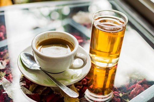 Tea, Coffee, Cup, Drink, Hot, Background, Breakfast