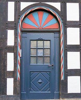 Door, Input, House Entrance, Old Door, Old, Wood