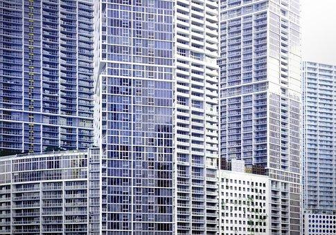 Miami, Skyscrapers, Downtown, Usa, Downtown Miami