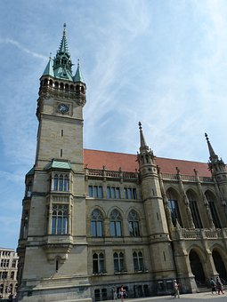 Town Hall, Facade, Monument, Early Renaissance, Gable