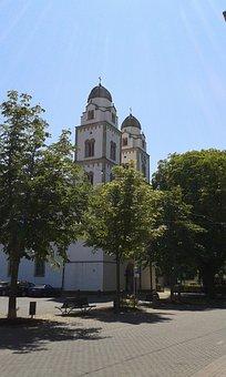 Germany, Rheinhessen, Guntersblum, Evangelical, Church