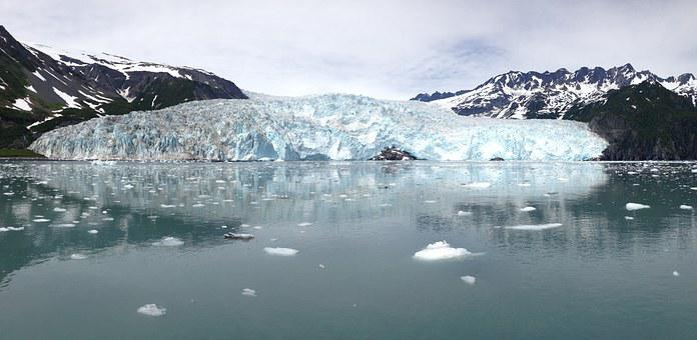 Alaska, Ice, Glacier, Snow, Blue, Water, Beautiful