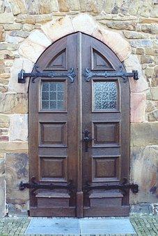 Door, Front Door, Input, House Entrance, Goal, Wood