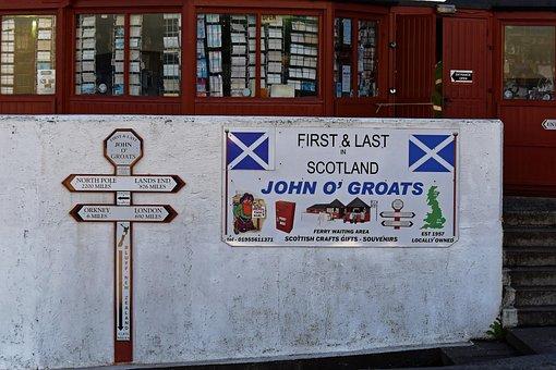 John O'groats, Scotland, John, Groats, Landmark