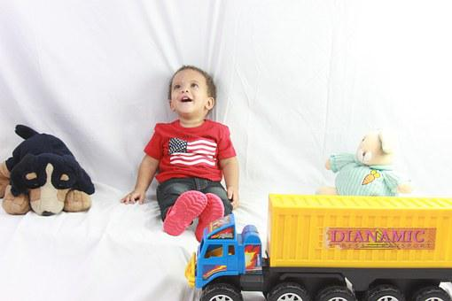 Baby, Happy, Child, Playing, Happy Children, Girl, Joy