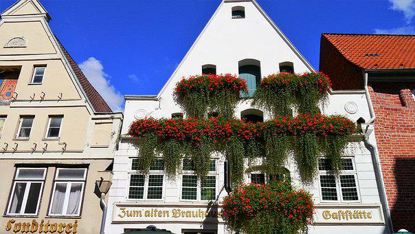 Lüneburg, Home, Architecture, Building, Housewife