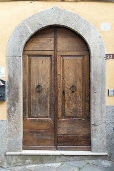 Door, Input, Wood, House Entrance, Front Door
