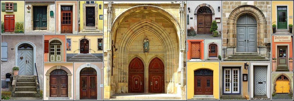 Door, Input, House Entrance, Goal, House, Old Door