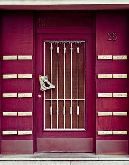 Door, Front Door, House Entrance, Input, House