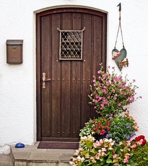 Wooden Door, House Entrance, Input, Door, Wood, Old