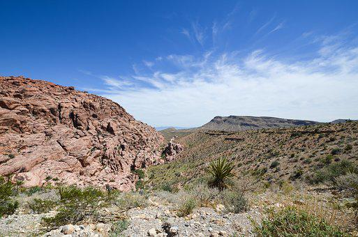 Usa, America, Nevada, Red Rock Canyon, Landscape, Rock