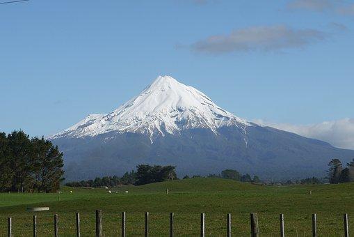 New Zealand, Landscape, Travel, Volcano, Zealand