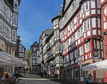 Lahn At Marburg, Marketplace, Truss, Stadtmitte