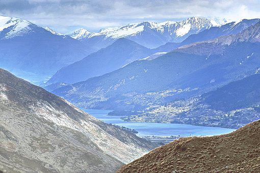 Mountains, Peaks, Valley, Mountain Tops, Scenery, Range