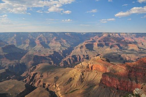 Mountains, Grand Canyon, Grand, Canyon, Desert, Park