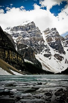 Mountains, Canada, Peaks, Ice, Snow, Landscape, Scenic