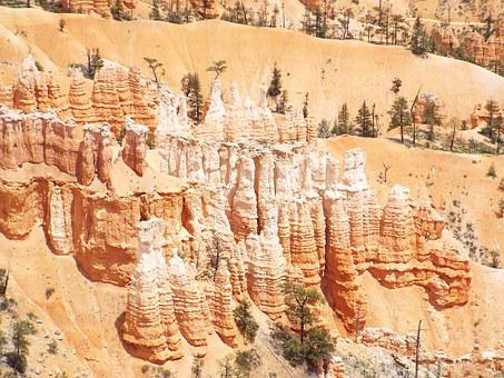 Hoodoo, Bryce Canyon, Utah, Bryce, Canyon, National