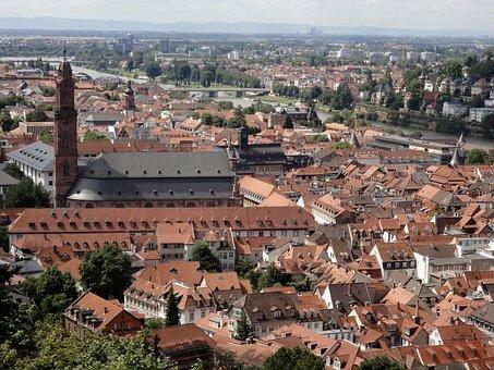 Heidelberg, Neckar, City, River, Bridge, Culture