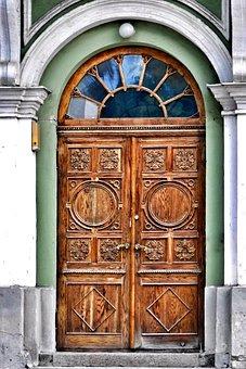 Input, Door, House, House Entrance, Old Door, Doors