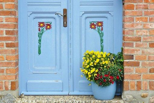 Door, Input, House Entrance, Old Door, Wood