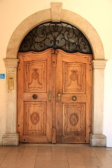 Goal, Door, Portal, House Entrance, Old Door, Input