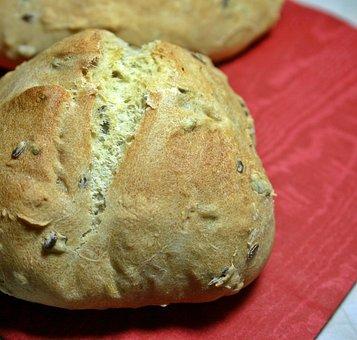 Roll, Pastries, Baked Goods, Eat, Food, Fresh, Crispy