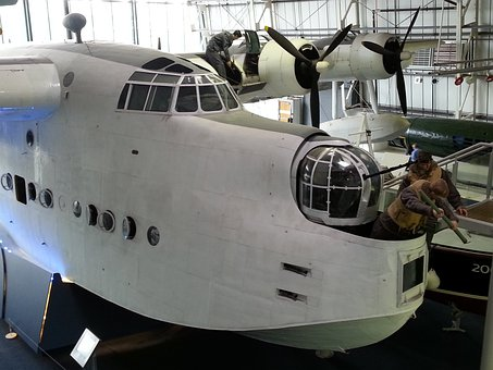 Museum, Flying Boat, Aeroplane, Seaplane, Flying, Plane