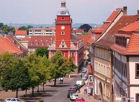 Gotha, Stadtmitte, Old Town Hall, Residenzstadt