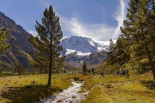 Mountains, Rocks, Nature, Kabardino-balkaria, Beauty