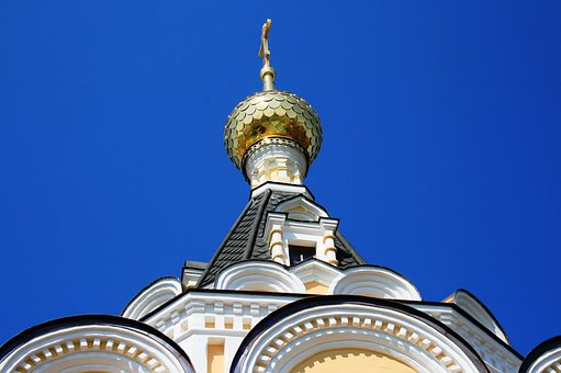 Building, Church, Cathedral, Religion, Russian Orthodox