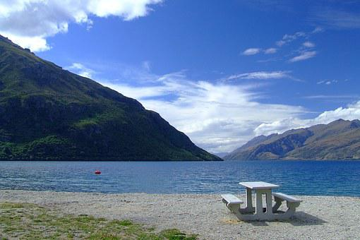New Zealand, Lake, Seating, Heaven, Exploring, Clouds